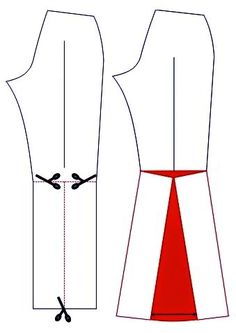 Sewing Pants, Sewing Clothes, Diy Clothes, Pattern Drafting Tutorials, Sewing Tutorials, Barbie Sewing Patterns, Clothing Patterns, Sewing Basics, Pants Pattern
