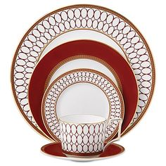 Wedgwood Renaissance Red Dinnerware Collection