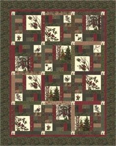 NEW 2015 Winter's Song Christmas Book! Antler Quilt Designs