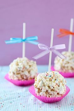 Marshmallow Popcorn Balls | Annie's Eats by annieseats, via Flickr