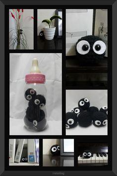 Lucas Craft House: Free Crochet Pattern for Dustbunny - Amigurumi from My Neighbor Totoro