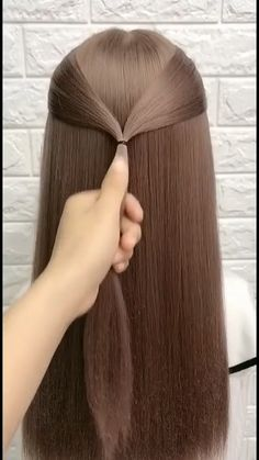 Easy Hairstyles For Long Hair, Braids For Long Hair, Pretty Hairstyles, Girl Hairstyles, Hairdos, Updos, Hair Up Styles, Aesthetic Hair, Light Brown Hair