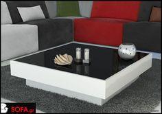 Τραπεζάκι σαλονιού Vegas σε μίνιμαλ γραμμή Sweet Home, Sofa, Table, Furniture, Vegas, Minimal, Home Decor, Google, Settee