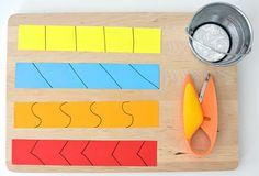 Scissor Practice for Preschoolers // via playful learning