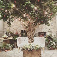 """fruitful life""…実りある人生…  ご新婦様のご実家はりんご農家 是非りんごを装飾で使いたい!そう思って @takigawa.tsg とテーマを考えました。 りんごのように芯があって、しっかりしたご新婦様。 そんな彼女を、りんごを大切に育てるように、優しさで包み込むご新郎様。  りんごの木の下で大切なゲストと特別な時間を過ごしてほしい。 そんな思いでデコレーションしました❤︎ #TRUNKデコレーション  #りんごの木#披露宴会場#ライト#りんご #trunkbyshotogallery #渋谷#shibuya#wedding#結婚式#flower#お花#decoration#display#プレ花嫁#ゼクシィ#DIY#love#会場 #装飾#オシャレ#可愛い#bouquet#ブーケ"