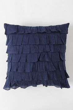 Waterfall Ruffle Pillow OR MAKE IT WITH LACE TRIMS !!!