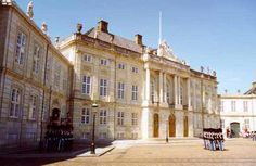 Amalienborg Palace is the home of Queen Margrethe 2 and Prince Consort Henrik and Crown Prince Frederik, Crown Princess Mary and their children. The Palace consist of 4 similar palaces; King Christian 7's Palace, King Christian 8's Palace, King Frederik 8's Palace and Christian 9's Palace. It was built in the 1600's by Queen Sophie Amalie. The Palace is located in Copenhagen.