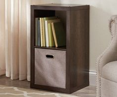 2-Cube Brown Storage Cubby at Big Lots.