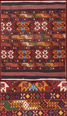 Old Azerbaijan Mafrashcm 140 x 115