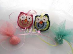 Knitales: Owl family!