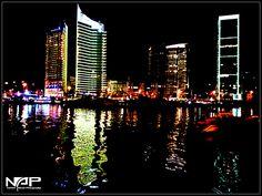 #Beirut#at#Night#Colorful#Zaitona#Zaitona#bay