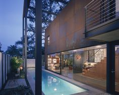 Inspired by Olympic Swimming Feats? Get a Lap Pool   Luxury Pools   700 Palms   Venice   California   EYRC Architects