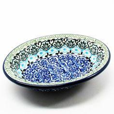 polish-pottery-soap-dish-#1858