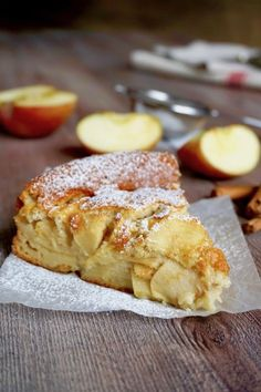 Fat Free Apple Pie 180 ° C of Sweetness cake wedding cake kindergeburtstag ohne backen rezepte schneller cake cake Apple Recipes, Sweet Recipes, Cake Recipes, Dessert Recipes, My Favorite Food, Favorite Recipes, Torte Cake, Plum Cake, Italian Desserts
