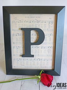 Create a personalized gift for choir, band, orchestra, or music teachers. DIY 5 minutes and under $10 music teacher gift.