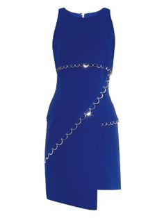 Asymmetric-hem crepe dress | Mugler | MATCHESFASHION.COM UK