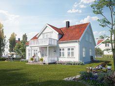 Sørlandshus Skipperhus Kvist