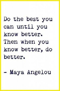 Do Your Best......