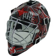 SOLD - Martin Brodeur New Jersey Devils Replica Mini Goalie Helmet