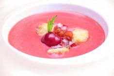 Gazpacho de cerezas #recetas #cuisine