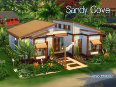 Check out this lot in The Sims 4 Gallery! The Sims 4 Lots, The Sims 4 Pc, Sims 3, Sims 4 House Building, Sims House Plans, Build A Pc, Sims 4 Build, Tiny House Layout, Sims 4 Houses Layout
