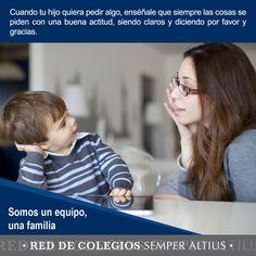 Consejos para tener una buena comunicación en familia. #Familia #Educación #SemperAltius