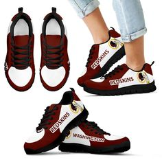 Washington Redskins Top Logo Sneakers – Best Funny Store