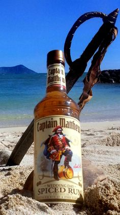 Your name and face on a Captain Morgan bottle! Haha awesome!