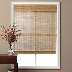 Tuscan Bamboo 74-inch Long Roman Shade | Overstock.com Shopping - The Best Deals on Blinds & Shades