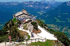 Eagle's Nest, Berchtesgaden, Germany - awesome place.  Other than it belonged to Hitler :(