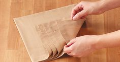 How to Fold a Napkin | Taste of Home