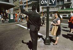 Fred Herzog, San Francisco, 1962 (that gal on the corner!)