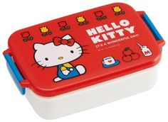 Microwave-Safe-450ml-Lunch-Box-Container-Sanrio-Hello-Kitty-Japanese-Bento-Box