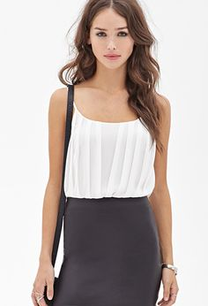Loving this outfit! So cute, but sleek at the same time! $22.90  Forever 21 New Fall Arrivals