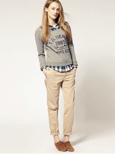 70b0970872f7 Menswear inspired - Ive discovered I like women dressed slightly like guys.  Bella Life Style · Layered Looks