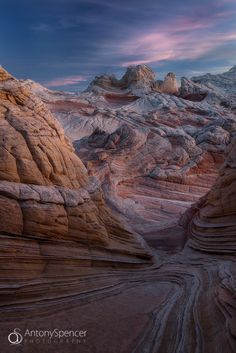 ~~White Pocket Sunset • Vermillion Cliffs Wilderness, Arizona by Antony Spencer~~