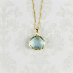 Amrit Necklace of Life - gorgeous!    Close your eyes, breathe deep and remember sitting on the beach at dusk, the water coming in, the cool breeze. This is aquamarine's gift to you.