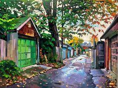 Land Scape, Toronto, Artwork, Painting, Instagram, Work Of Art, Auguste Rodin Artwork, Painting Art, Artworks