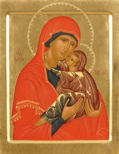 Over 600 hand-painted Orthodox icons to order from the Catalog of St Elisabeth Convent. Commission a painted icon of Christ, the Mother of God, Orthodox saints and Feasts Religious Icons, Religious Art, Paint Icon, Blessed, Santa Ana, Examples Of Art, St Anne, Byzantine Icons, Madonna And Child