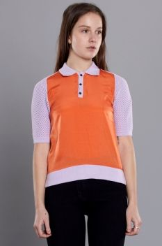 Antipodium Sporting Chance Polo Top Lilac