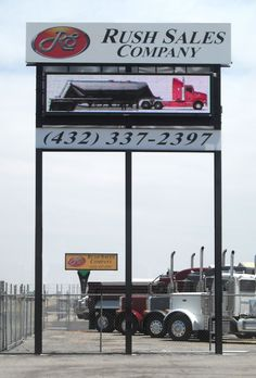 Full Color LED Sign, Rush Sales Company