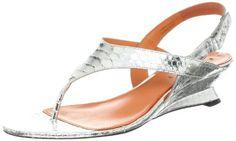 Via Spiga Women's Leanne Wedge Sandal,Silver,7.5 M US Via Spiga http://www.amazon.com/dp/B009NGL182/ref=cm_sw_r_pi_dp_kheWvb1DWH74J