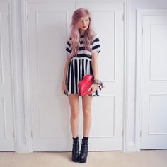 perfect hair + outfit