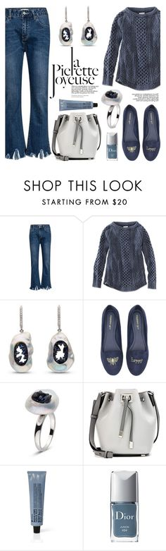 """""""Blue Sapphire Grotto"""" by littlehjewelry ❤ liked on Polyvore featuring L.L.Bean, Madden Girl, Michael Kors, Mina, La Compagnie de Provence and Christian Dior"""