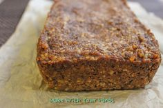 Make with your hands: Paleo Pumpkin Bread