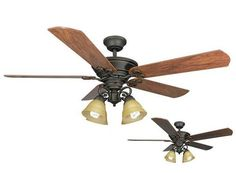 Turn of the Century Viente 52 in. Oil-Rubbed Bronze Ceiling Fan at Menards