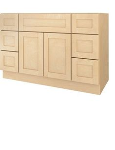 Photos On W x H x D Natural Maple Bath Vanity Base Cabinet Shaker Panel