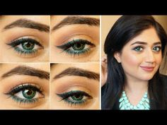 Summer Makeup Tutorial for Hooded Eyes | corallista - YouTube