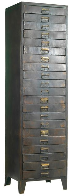 Filing Cabinet. I love furnishings with lots of drawers!