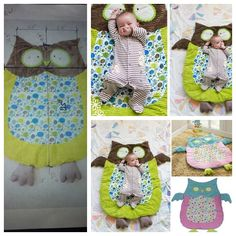Creat a cute owl mat for your litlle one ,  enjoy some time playing or napping for a while. http://wonderfuldiy.com/wonderful-diy-cute-baby-owl-mat/